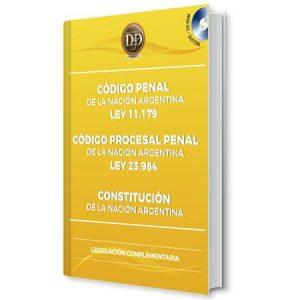Código Penal, Código Procesal Penal, Constitución de la nación