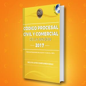 Código Procesal Civil y Comercial de la Nación 2017