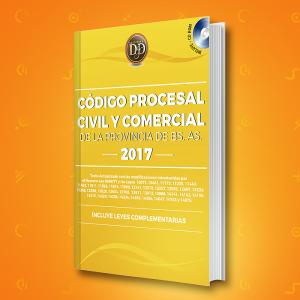 Código Procesal Civil y Comercial de la Provincia de Buenos Aires 2017