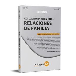 Actuación Profesional Relaciones de Familia - Víctor de Santo tomo 1