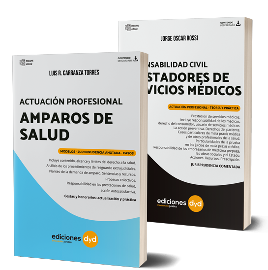 Pack Amparo de Salud y Prestadores de Servicios Médicos