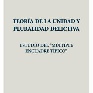 Teoría de la unidad y pluralidad delictiva