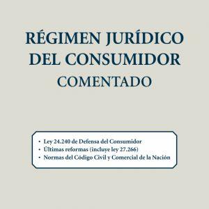 Régimen jurídico del consumidor